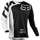 Fox Jersey 180 Race, Black, Größe XL