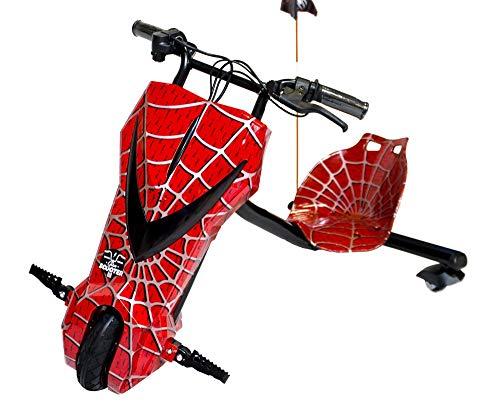 Koastal Scooter Drift ELÉCTRICO Triciclo 360º Boogie - Spiderman -MAX. 15KM/H -...