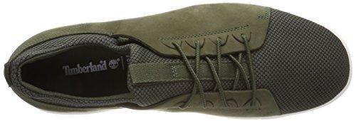 Timberland Amherst Sensorflex, Scarpe Ficeler Oxford Uomo Verde (feuille De Raisin A58)