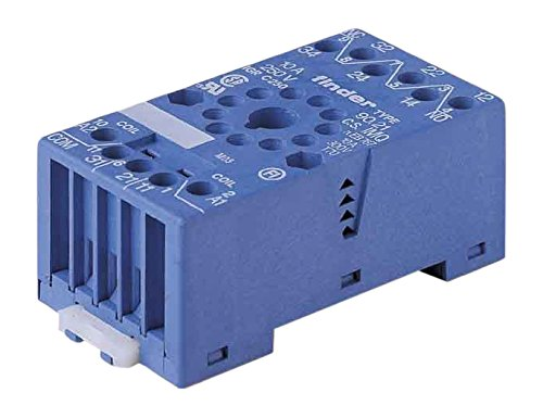 Price comparison product image Finder Schraubfassung Blue 90.21 11 Pin Price for 1 Each