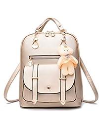 3350d4b9e8f3a Jamie Soul Handtasche Bär Multifunktional Schule Shopper Backpack Elegant  Wasserfest Mädchen Schoolbag Studenten Grosse Kapazität Verschleißfest