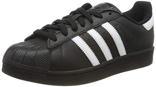 Adidas Herren Foundation (adidas Herren Superstar Foundation B27140 Sneaker, Schwarz (Black, 41 1/3 EU)