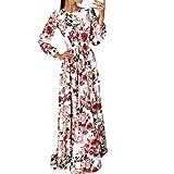 Clode Robe de soirée Boho Maxi pour Femmes (L)