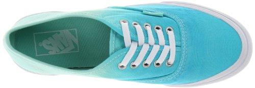 Vans U Authentic Slim Ombre, Baskets mode mixte adulte Bleu (Cloisonne/Icy Green)