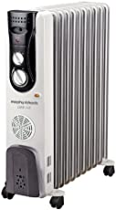 Morphy Richards OFR11F - 11 Fin Oil Filled Radiator With PTC Fan Heater