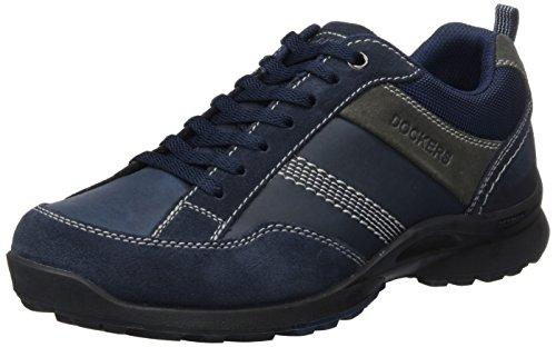 dockers-by-gerli37lk007-205660-scarpe-da-ginnastica-basse-uomo-blu-blau-navy-660-41-eu