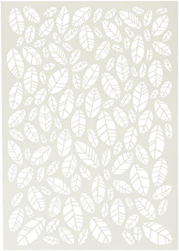 Carabelle Studio Art Template Schablone, Blätter zum gestalten von Gemusterten Hintergründen und Erstellen von Kunstwerken und Bastelprojekten -