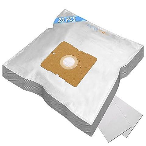 MEGA SET - 20 Sacs Aspirateur Pour Dirt Devil DD7374-1 BEAT1.1, DD7374-2 BEAT2.1, DD7374-7,DD7374-8,DD7374-9, DD7375-1 CAPOERA 1.1, DD7375-2 CAPOERA 2.1, DD 7700 rebel 70, DD7700-3 REBEL70