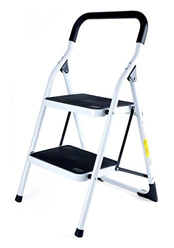 Sin Marca 8041763 - Escalera antideslizante de 2 peldaños