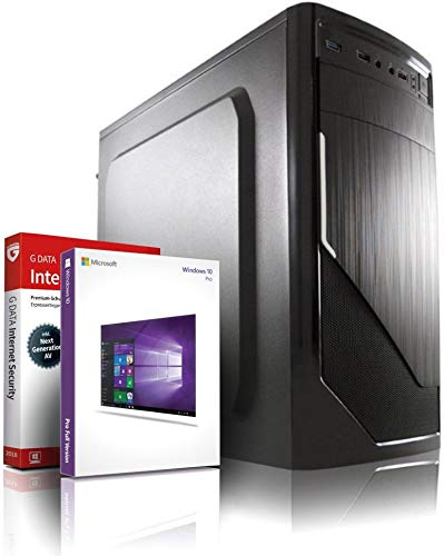 Entry Gaming/Multimedia/Office 12-Kern Computer mit 3 Jahren Garantie! | AMD FX-8800 4x3.4 GHz | 16GB DDR4 | 1TB | 8Kern Grafik Radeon DX 12 | USB3.1 | WLAN | 22x DVD±RW| Win10 64-Bit | GDATA #6063