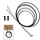 Chooee Teflon Cambio Shifter/Shift Cable & Brake Cavi Set per Bicicletta da strada