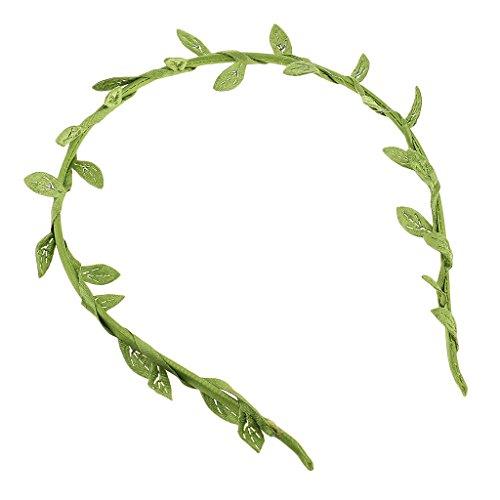 Homyl Blumenstirnband Kopfband Kranz Braut Brautjungfer Haarschmuck Blätter Haarreif Haarband Haarspange