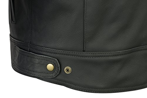 Texpeed Two Tone Leather Racing Jacket - 8