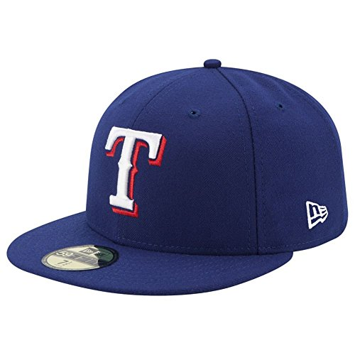 New Era 59Fifty Cap - AUTHENTIC Texas Rangers royal