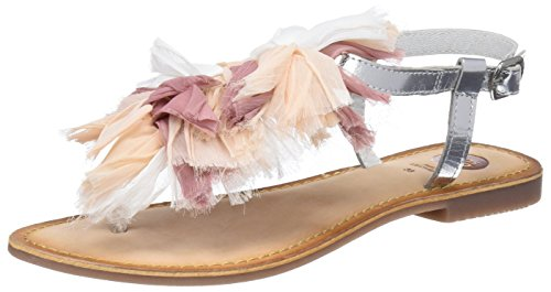 Zapatos plateado de punta abierta Gioseppo para mujer 4JJFNspG0Y