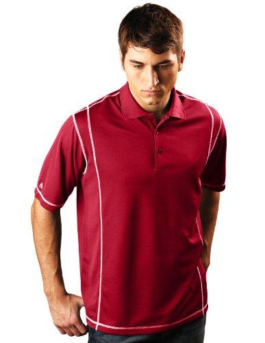 Antigua -  Camicia Casual  - Uomo Dark Red/White