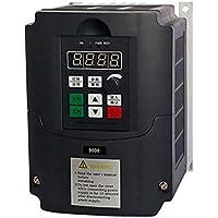380V 2.2KW Inversor de frecuencia, monofásico Convertidor de frecuencia de 3 fases de salida del convertidor de velocidad ajustable de frecuencia de accionamiento del inversor