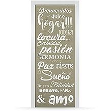 Vinilos para puertas - Vinilos para puertas de madera ...