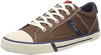 s.Oliver Herren 13602 Sneaker, Braun (Mocca), 41 EU