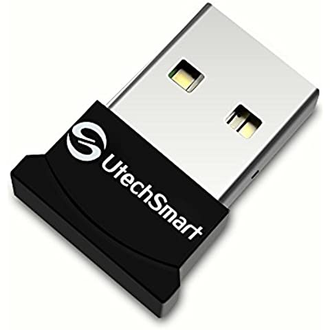 (Broadcom BCM20702 chipset) UtechSmart USB Bluetooth 4.0 Low Energy Micro Adapter (Windows 8, 7, XP, Linux Compatible; Classic Bluetooth and Stereo Headset Compatible)