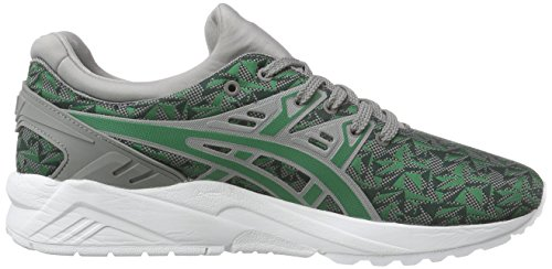 Asics Gel-Kayano Trainer Evo, Baskets Basses Mixte Adulte Vert (green/green 8484)