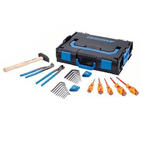 Gedore 1600A012ZY Werkzeugset in L-Boxx, 26-teilig (Box-fans 10 Zoll)