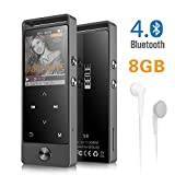 MP3 Player,BENJIE Portable Bluetooth MP3 player,Sports Music Player With Touch Button for Running,HiFi