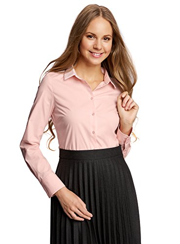 oodji Ultra Women's Basic Cotton Shirt