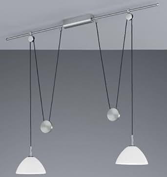 Bankamp suspension halogène lampe suspension à hauteur réglable
