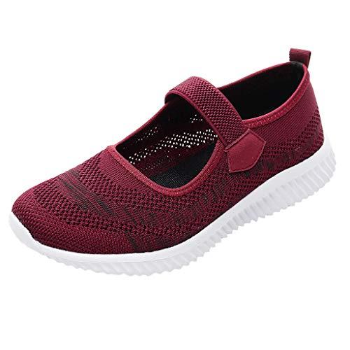 KERULA Fashion Women Casual Shoes Breathable Sport Low-Top Running Shoes Fashion Sportschuhe Damenschuhe und Herrenschuhe Laufschuhe Elastische Sneakers -