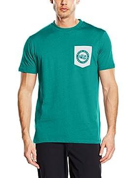 The North Face - T-shirt da uomo a manica corta, serie Celebration, Uomo, T-Shirt S/S Celebration Tee, foglia...