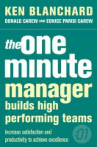 The One Minute Manager Builds High Performing Teams Cover Image