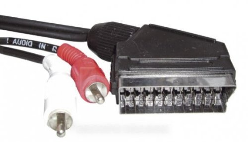 THOMSON–Kabel Scart männlich/2x RCA Male Stereo für TV LCD Cables Thomson (Thomson Rca Stereo)