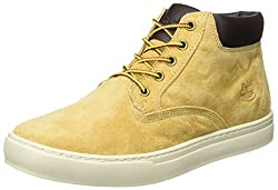 Timberland Mens Dauset Chukka Boots Beige (Wheat) 8.5 UK