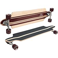 HUDORA Longboard Big Rock - ABEC 7 - Skateboard - 12805