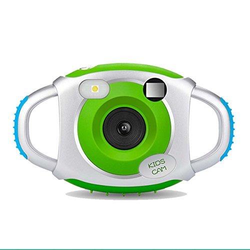 Digitalkamera Action Camcorder Minikamera Kamera für Kinder 500 Millionen Pixel 1.45 Zoll Bildschirm,Spielzeug und Geschenk für Kinder -Wasserdicht bis 3 Meter(Grün)