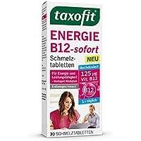taxofit Energie B12-Sofort Spar-Set 3x30 Schmelztabletten. Hochdosiert 1x täglich (100µg Vitamin B12). Für Energiestoffwechsel... preisvergleich bei billige-tabletten.eu