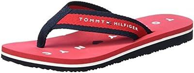 Tommy Hilfiger M1285ellie 7d, Sandalias De Punta Descubierta para Mujer