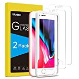 SPARIN [2-Pack] Protector Pantalla iPhone 7 Plus/iPhone 8 Plus, Cristal Templado iPhone 7 Plus/iPhone 8 Plus, Vidrio Templado con [2.5d Borde Redondo] [9H Dureza] [Alta Definicion]