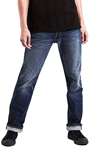Skate 501 STF 5 Pocket Grösse: 36/34 Farbe: Blau (Levis 501 34 36)
