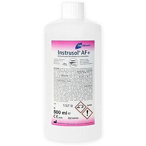 InstruSol AF Desinfektionsmittel für Medizinprodukte, 100%-iges Konzentrat, 500ml, für Einlegeverfahren