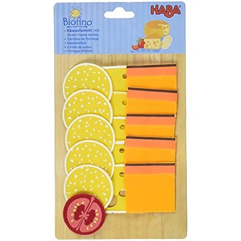 HABA 1455 - Biofino, Fette di formaggio giocattolo