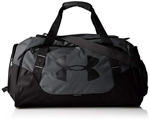 Under Armour Uni UA Undeniable Duffle 3.0 MD SPorttasche, 33 x 64 x 28 cm, graphite/Schwarz -