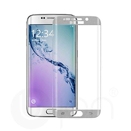 Preisvergleich Produktbild bijon® Panzerglas Displayschutz Pro+ Premium 9H für Samsung Galaxy S7 Edge - Silber