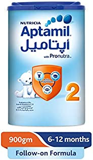 Aptamil 2 Follow On Formula Milk, 900g