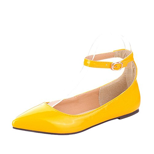 In Pizzo Giallo Donna Up Nonbrand Tacco wxzFwqEB