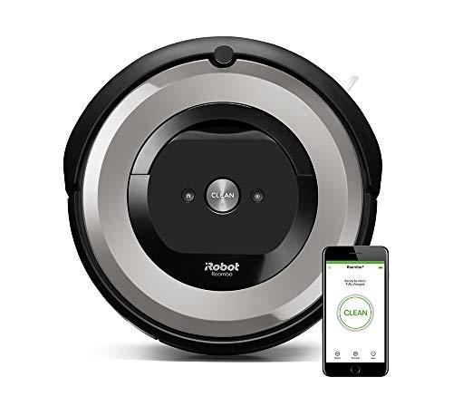 Irobot Roomba e5154, système de Nettoyage Anti-emmêlement avec capteurs de poussière, Tapis et sols durs, Le Meilleur aspirateur Robot pour Les Animaux, connecté en Wi-FI, Arg