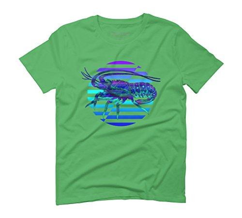 Bottom Feeder Men's Graphic T-Shirt - Design By Humans Green