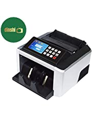 Dinshi Money Value Counting Machine Note/Cash Counting with Fake Note Detector