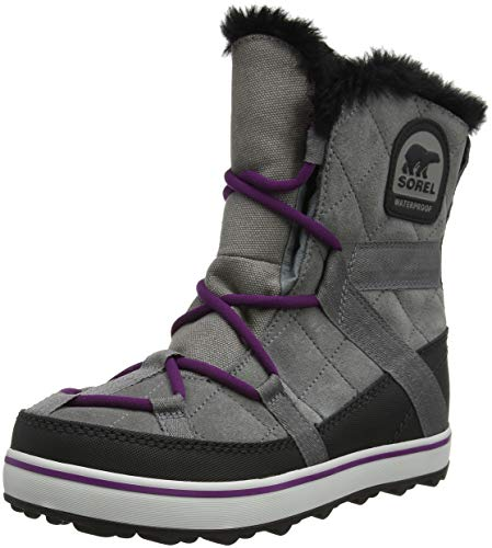 Sorel Damen Glacy Explorer Shortie Boots, grau (quarry), Größe: 40 (Womens Snow Sorel)